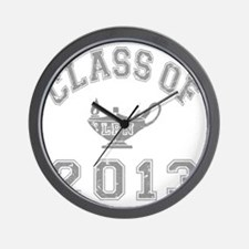 CO2013 LPN Gray Distressed Wall Clock