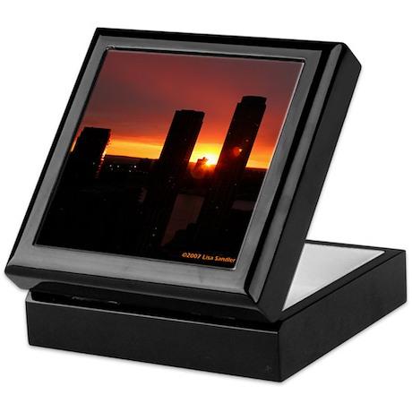 Sunset 3 Keepsake Box