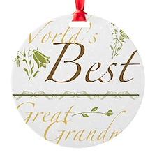 Garden_GreatGrandma Ornament