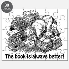 Knowledge 8 The book is always better Puzzle