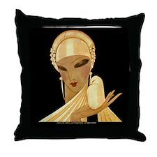 1 JAN V VOGUE GoldLadyBird Throw Pillow