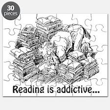 Knowledge 4 reading is addictive Puzzle