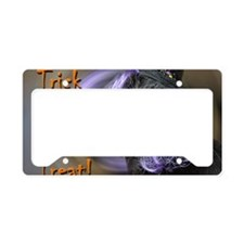 Witch kitty License Plate Holder