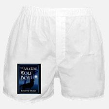 The Amazing Wolf Boy notecard Boxer Shorts