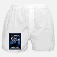 The Amazing Wolf Boy greeting card Boxer Shorts