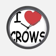 CROWS Wall Clock