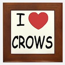 CROWS Framed Tile