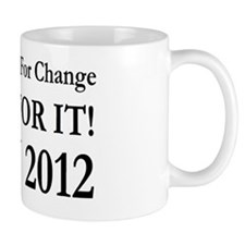 Herman Cain vote for change Mug