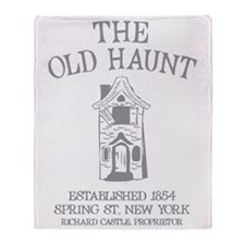 the_old_haunt2greyCP Throw Blanket