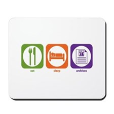 Eat Sleep Archives Mousepad