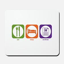 Eat Sleep Archives Mousepad