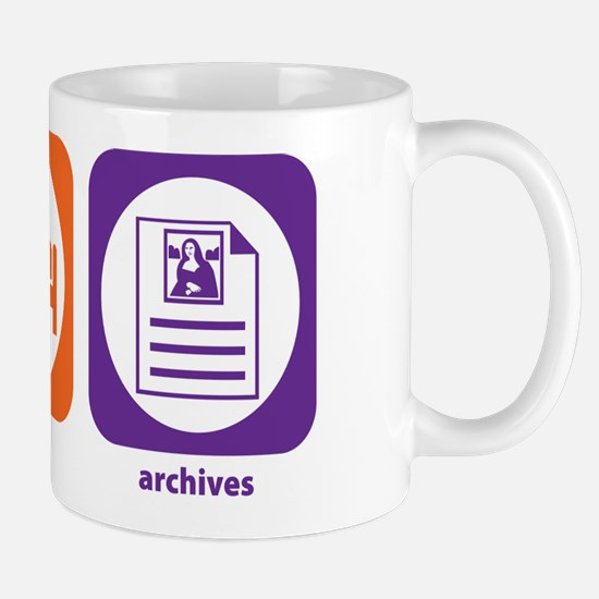 Eat Sleep Archives Mug