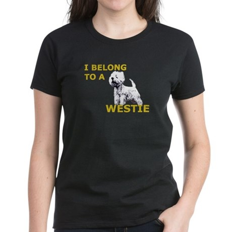 Westie Women's Dark T-Shirt