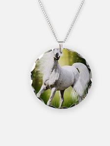 Grey Stallion Necklace