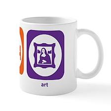 Eat Sleep Art Mug