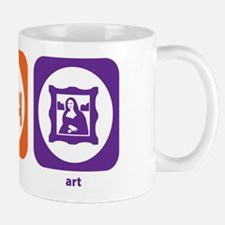 Eat Sleep Art Mug
