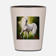Grey Stallion Shot Glass
