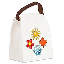 Seasons Canvas Lunch Bag