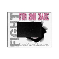 - Fight for 2nd Base Breast Cancer Picture Frame