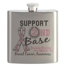 - Support 2nd Base Breast Cancer Flask