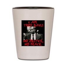 troy davis2 copy Shot Glass