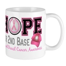 - Hope for Second Base Breast Cancer Mug