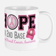 - Hope for Second Base Breast Cancer Mug