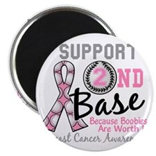 - Support 2nd Base Breast Cancer Magnet