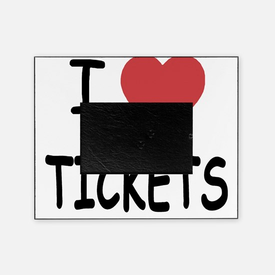TICKETS Picture Frame