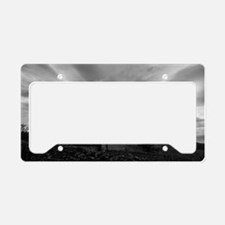 Nobody Home License Plate Holder