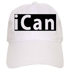 ican License Plate Aluminum Baseball Cap