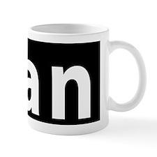 ican License Plate Aluminum Mug