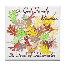 The God Family Reunion10X10 Tile Coaster