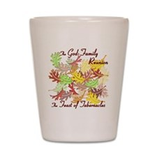 The God Family Reunion10X10 Shot Glass