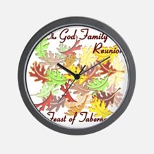 The God Family Reunion10X10 Wall Clock