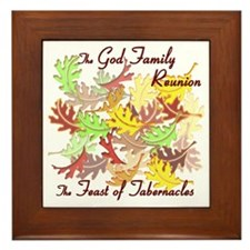 The God Family Reunion10X10 Framed Tile