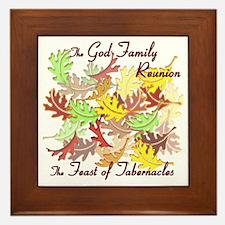 The God Family Reunion10X10 Framed Tile