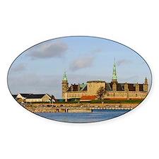 Helsingor. Kronoborg castle at the  Decal
