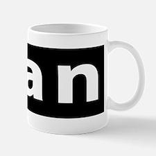 ican bumper sticker Mug