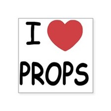 "PROPS Square Sticker 3"" x 3"""