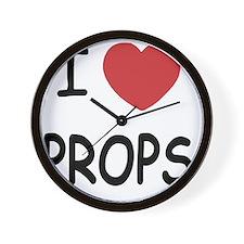 PROPS Wall Clock