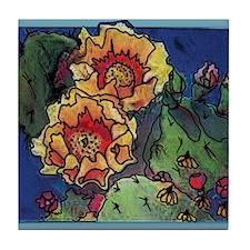 Cactus FLUER Tile Coaster