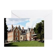 Le Clos Luce. the final home of Leon Greeting Card