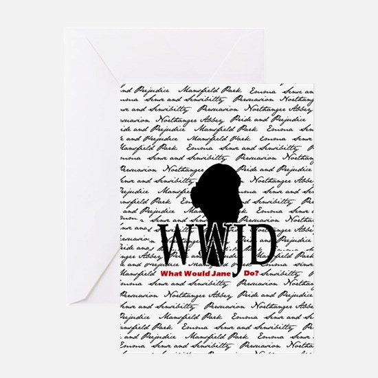 nook_wwjd Greeting Card
