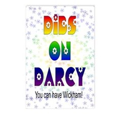 nook_darcy_dibs Postcards (Package of 8)