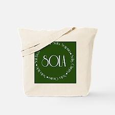 sola12 Tote Bag