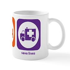 Eat Sleep Save Lives Mug