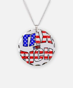 TAX the RICH Necklace