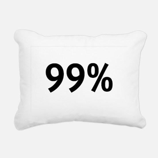 99percent Rectangular Canvas Pillow