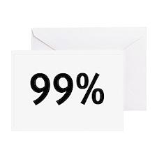 99percent Greeting Card